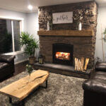 fireplace tamarack mountain ledge
